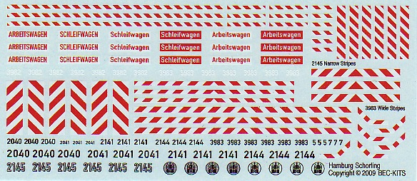 Schörling decals