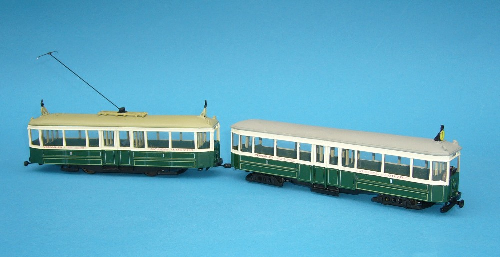 Paris Ls and Asl tram models